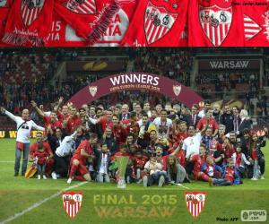 Puzzle Sevilla champion Europa League 15