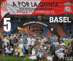 Puzzle Sevilla champion Europa League 16