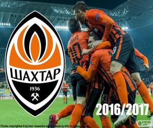 Puzzle Shakhtar Donetsk, champion 2016-17