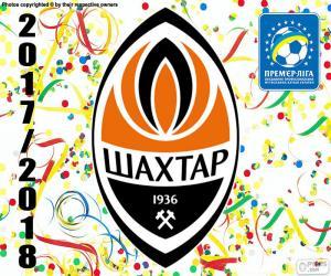 Puzzle Shakhtar Donetsk, champion 2017-18