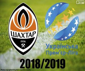 Puzzle Shaktar Donetsk, champion de 2018-19