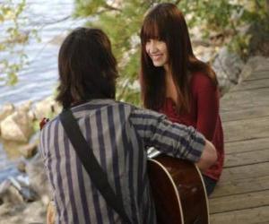 Puzzle Shane (Joe Jonas) chantant ainsi Mitchie Torres (demi Lovato)
