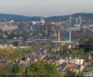 Puzzle Sheffield, Royaume-Uni
