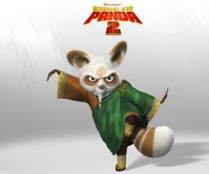 Puzzle Shifu est l'entraîneur de tous les grands combattants de kung fu dans le pays.