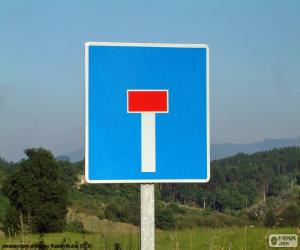 Puzzle Signal de voie sans issue