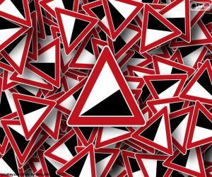 Puzzle Signaux de descente dangereuse