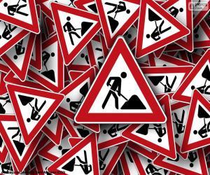 Puzzle Signaux de travaux
