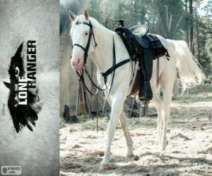 Puzzle Silver est le cheval de John
