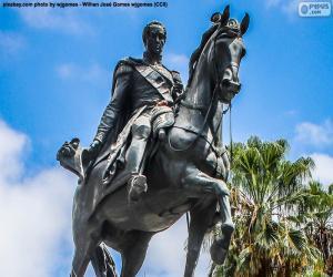 Puzzle Simón Bolívar