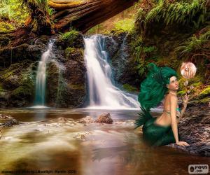 Puzzle Sirène dans la rivière