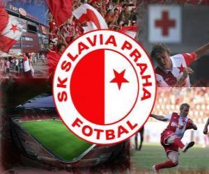 Puzzle SK Slavia Prague, équipe de football tchèque