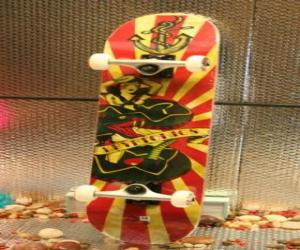 Puzzle Skateboard