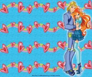 Puzzle Sky, le prince de Eraklion et Bloom en amour