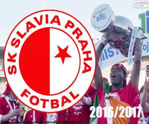 Puzzle Slavia Prague, champion 2016-2017