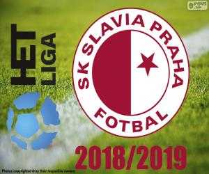 Puzzle Slavia Prague, champion 2018-2019