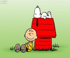 Puzzle Snoopy et Charlie Brown