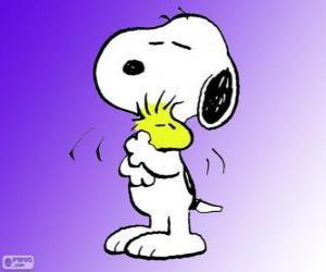 Puzzle Snoopy et Woodstock