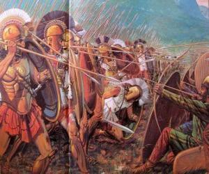 Puzzle Soldats grecs