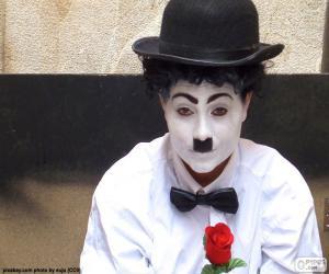 Puzzle Sosie de Charlie Chaplin