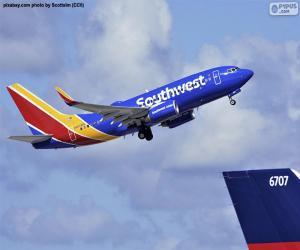 Puzzle Southwest Airlines, États-Unis d'Amérique
