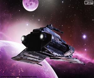 Puzzle Spécial de vaisseau spatial