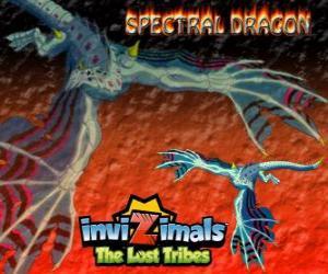 Puzzle Spectral Dragon. Invizimals The Lost Tribes. Invizimal maléfique qui assure des combats faciles si vous êtes courageux d'avoir à vos côtés