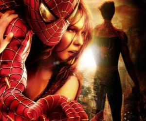 Puzzle Spiderman avec Mary Jane