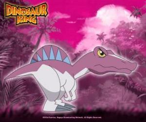 dinosaure spinosaurus dtenue par zander de gang alpha