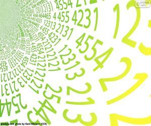 Puzzle Spirale des nombres