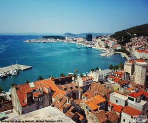 Puzzle Split, Croatie