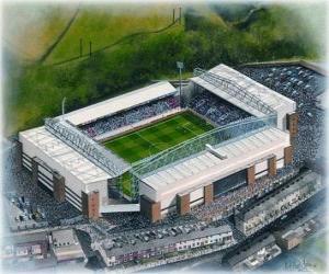 Puzzle Stade de Blackburn Rovers F.C. - Ewood Park -