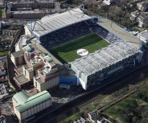D Football Stadium Puzzle Aston Villa
