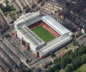 Puzzle Stade de Liverpool F.C. - Anfield -