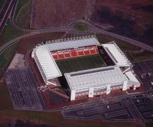 Puzzle Stade de Stoke City F.C. - Britannia Stadium -
