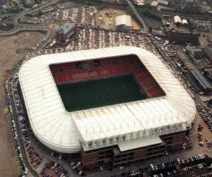 Puzzle Stade de Sunderland A.F.C. - Stadium of Light -