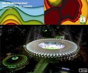 Puzzle Stade Maracanã (76.525), Rio de Janeiro