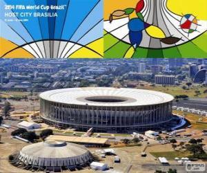 Puzzle Stade national (70.807), Brasilia