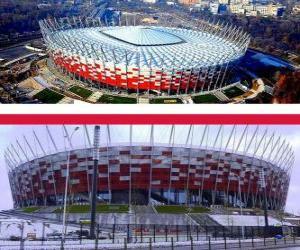Puzzle Stade national de Varsovie (58.145), Varsovie - Pologne