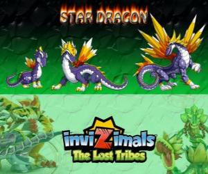 Puzzle Star Dragon, dernière évolution. Invizimals The Lost Tribes. Le plus précieux dragon invizimal