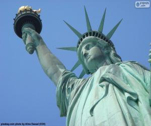 Puzzle Statue de la liberté, New York