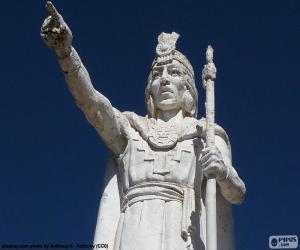 Puzzle Statue de Manco Cápac