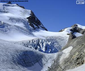 Puzzle Stein Glacier, Suisse