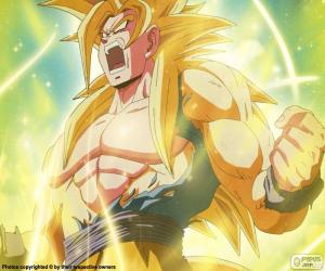 Puzzle Super Saiyan Dragon Ball