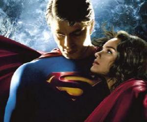 Puzzle Superman avec Lois Lane, reporter et son vrai et grand amour