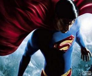 Puzzle Superman, l'un des plus célèbres super-héros