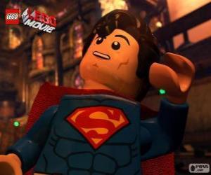 Puzzle Superman, un super-héros du film Lego