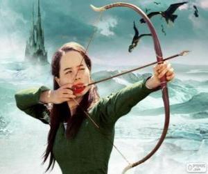 Puzzle Susan Pevensie avec arc