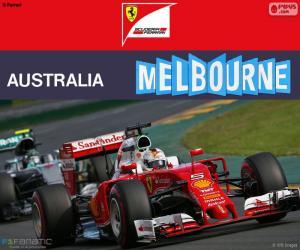 Puzzle S.Vettel G.P Australie 2016