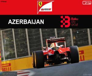 Puzzle S.Vettel, G.P. d'Europe 2016