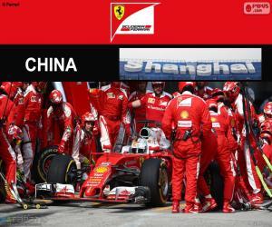 Puzzle S.Vettel Grand Prix de Chine 2016